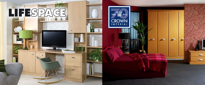 Crown LifeSpace and Crown bedroom furniture