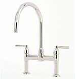 Perrin & Rowe Io 2 Hole Sink Mixer with Levers
