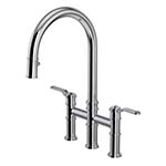 Perring & Rowe Armstrong Pull-out Tap with Textured Handles