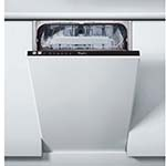 Whirlpool Absolute Built In Slimline Dishwasher