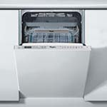 Whirlpool Integrated Slimline Dishwasher