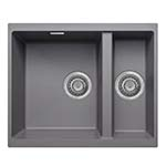 Essentials Cube Undermount 1.5 Bowl Granite Sink