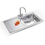 Franke Epos Single Bowl SINK AND TAP PACK