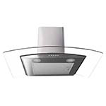 Essentials 70cm Curved Glass Hood