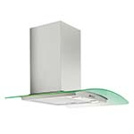 Essentials 70cm LED Curved Chimney Hood