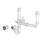 Essentials Double Bowl Plumbing Kit