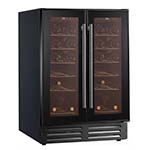 Essentials 600mm Two Door Wine Cooler