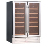 Essentials 600mm Two Door Wine Cabinet