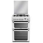 Hotpoint FREESTANDING Ultima 60cm Double Oven Dual Fuel Cooker