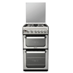 Hotpoint FREESTANDING Ultima 50cm Double Oven Gas Cooker