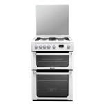 Hotpoint FREESTANDING Ultima 60cm Double Oven Gas Cooker