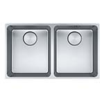 Franke Mythos Double Bowl Undermount Sink
