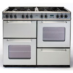New World 100cm Dual Fuel Range Cooker