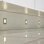 Sensio Luce SLS 4 x LED Square Plinth Light Kit