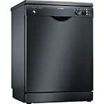 Bosch FREESTANDING Series 2 60cm Black Dishwasher