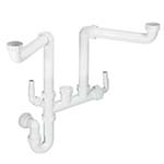 McAlpine Double Bowl Plumbing Kit