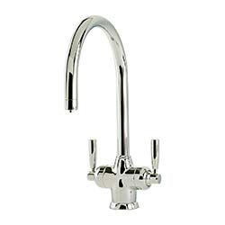 Perrin & Rowe Mimas Dual Lever Filter Tap with C Spout