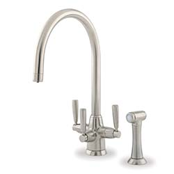 Perrin & Rowe Metis Filter Tap with Rinse, C Spout