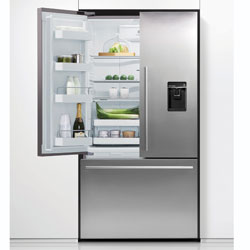 Fisher & Paykel 3 Door Designer Ice & Water Fridge Freezer