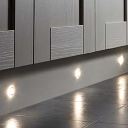 Sensio Halo Triotone, Colour Selectable LED Plinth Light
