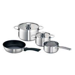Bosch Four Piece Pan Set for Induction Hobs